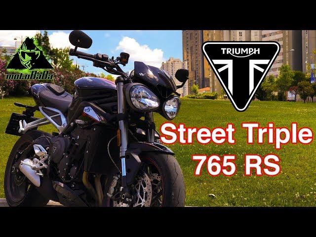 TRIUMPH Street Triple 765 RS 2018, İlk İzlenim, Motovlog