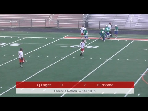 High School Lacrosse - Chaminade Julienne Eagles @ Wilmington Hurricane - 04-23-2018