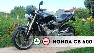 Honda CB 600 Hornet Плюсы и Минусы