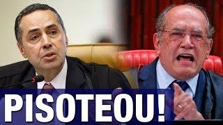 Ministro Barroso pisoteia Gilmar Mendes em pleno STF: 'Muda a jurisprudência conforme o réu, isso.. thumbnail