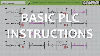 Basic PLC Instructions (Full Lecture)