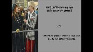 Ross Lynch and Debby Ryan - Face to Face Lyrics / Subtitulada En Español