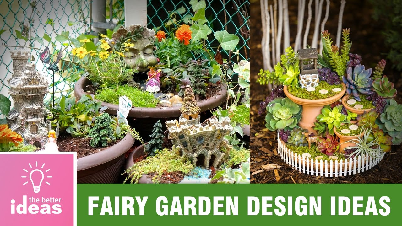 Beautiful Fairy Garden design ideas The Better Ideas YouTube