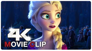Elsa You Are Not Going Alone Scene - FROZEN 2 (2019) Movie CLIP 4K