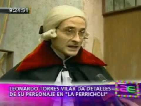 AMERICA ESPECTACULOS 01 08  LEONARDO TORRES VILAR ES JOSE PERFECTO DE SALAS EN LA PERRICHOLI