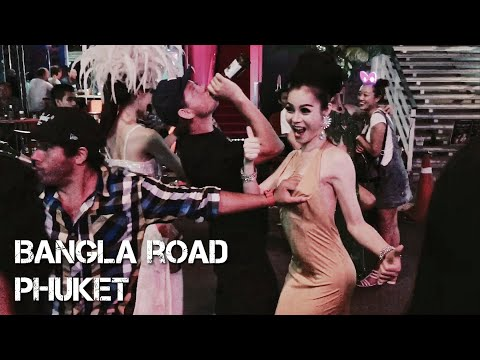 Ночная жизнь.Пхукет.Бангла роад.Пляж Патонг / Phuket nightlife.Bangla road.Patong beach