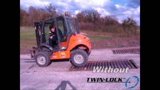 Twin Lock Hydraulic System Forklift