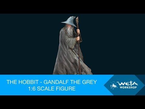 The Hobbit - Gandalf the Grey 1/6 Scale Figure by Weta Workshop