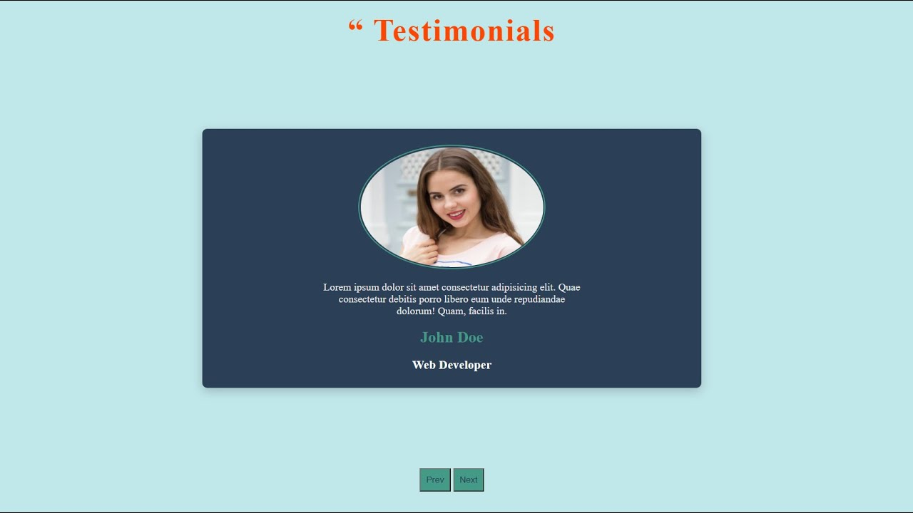 Using HTML, CSS, and Javascript, create a slider
