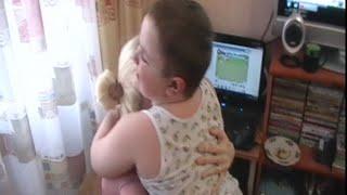 Лева малыш в гостях у Лёши и Юли!!! Где Юля жила раньше