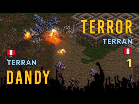 STARCRAFT ROUND 1:  🇵🇪  TERROR  VS  DANDY 🇵🇪