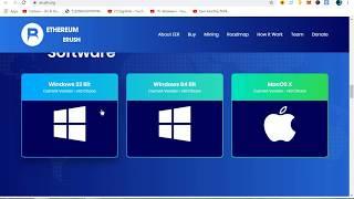 Start Mining Ethereum eRush Coin|1st Ever Erc20 Token To Mine