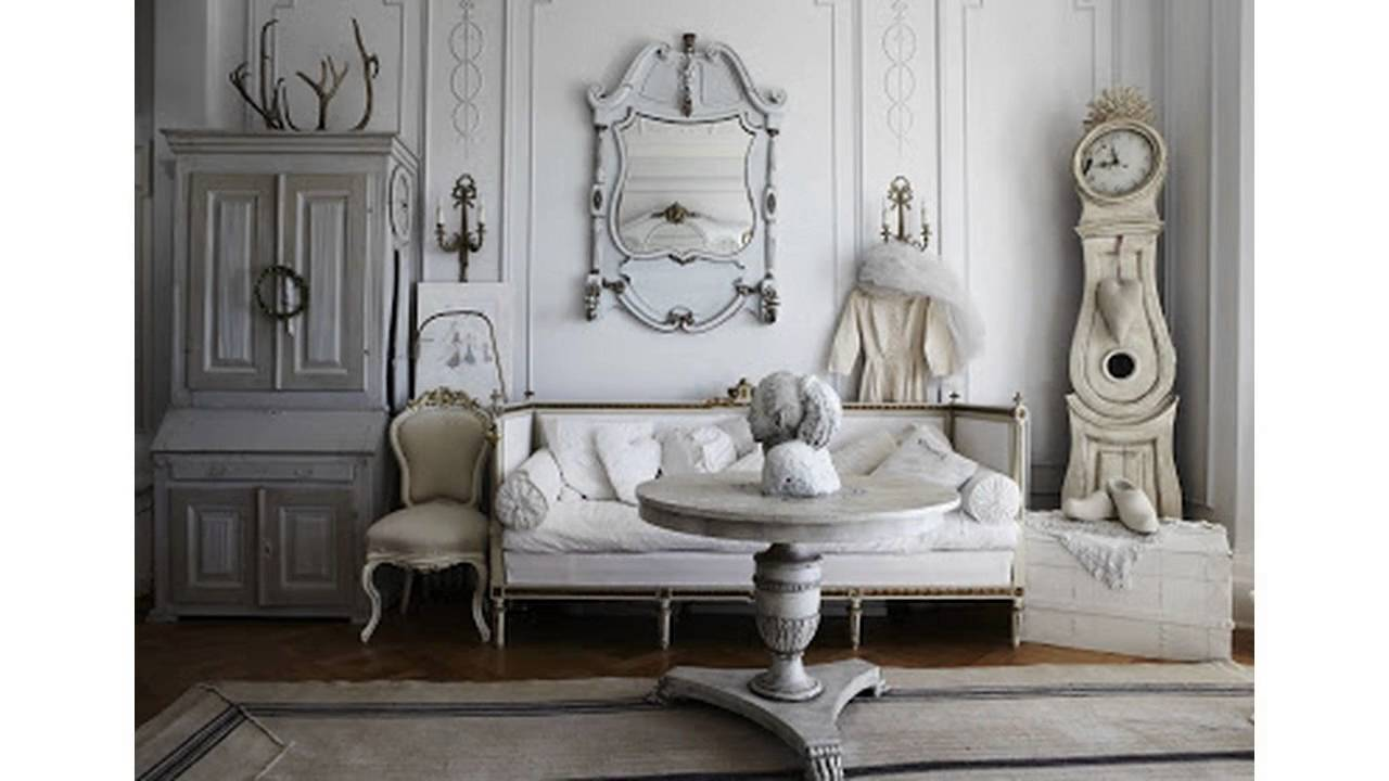 shabby chic wohnzimmerm bel design ideen youtube. Black Bedroom Furniture Sets. Home Design Ideas