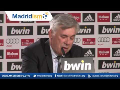 Conferenza stampa Carlo Ancelotti (Italiano)