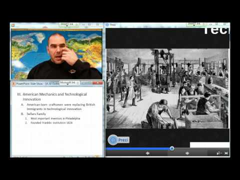 Video Lecture 30: The American Industrial Revolution
