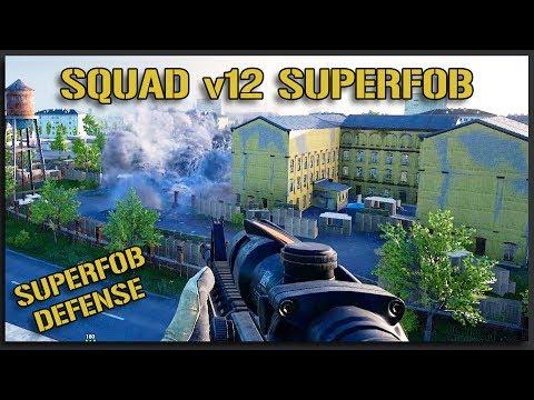 SQUAD v12 Hospital SUPERFOB! - Squad Gameplay Full Match