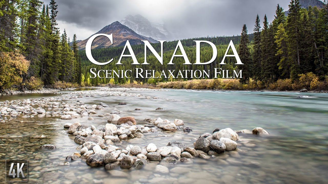 Download Canada 4K Relaxation Film | Canadian Rockies Panorama | Canada Nature with Ambient Music