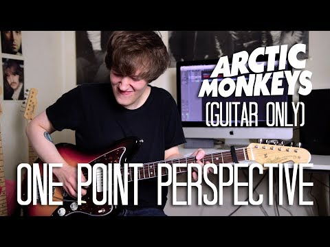 One Point Perspective - Arctic Monkeys Cover (Tranquility Base Hotel + Casino Album Cover)