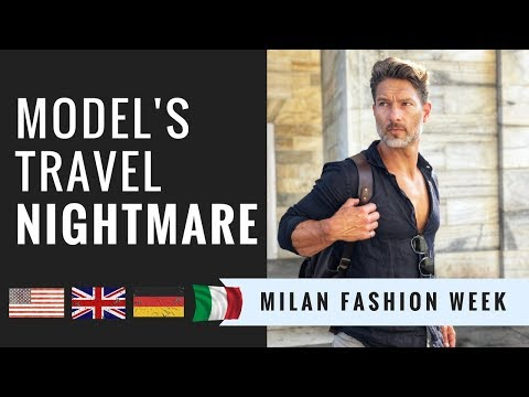 MODEL'S TRAVEL NIGHTMARE — Milan Fashion Week (4 Countries Later...)