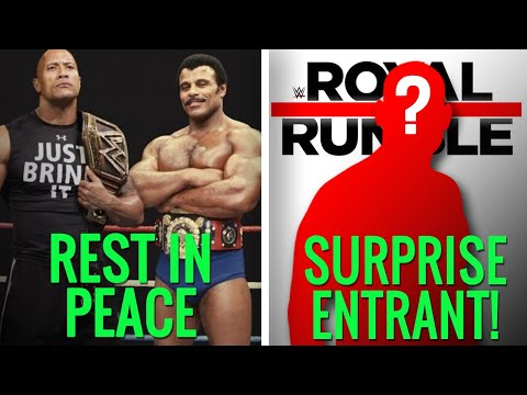 The Rock's Father Rocky Johnson Passes Away (RIP). BIG Name Confirmed WWE Royal Rumble 2020!