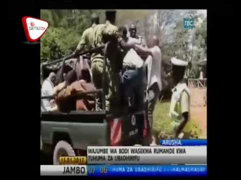 Mrisho Gambo Anusa Ufisadi Saccos Karatu