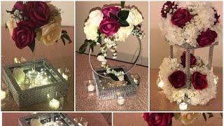 DIY - easy shadow box centerpiece Diy- dollar tree centerpiece DIY- romantic centerpieces