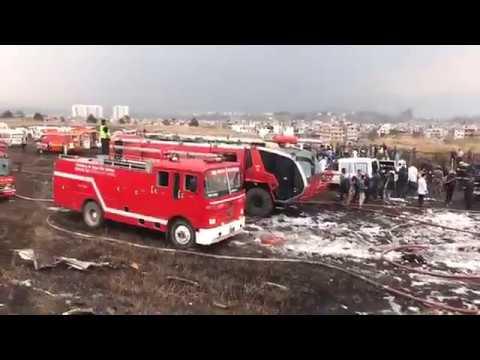 US-Bangla Airplane crash in Kathmandu (Bombardier Dash 8 Q400 aircraft)
