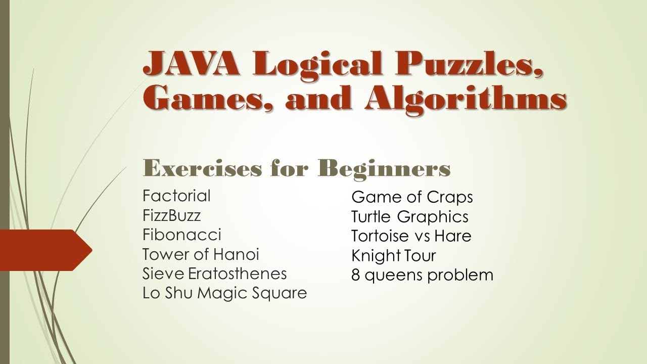 Java Logical Puzzles, Games, and Algorithms: Lo Shu Magic Square Part 2