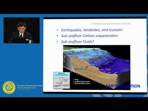 EGU2011: A new science plan for ocean drilling -- The Future of IODP