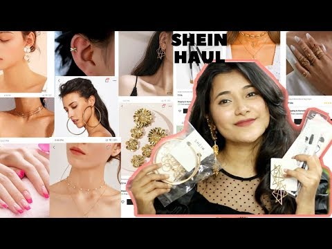 SHEIN HAUL |Jewellery And Beauty Haul Starting At Rs.87 || Akriti Ranjan