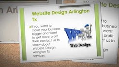 Website Design Arlington Tx