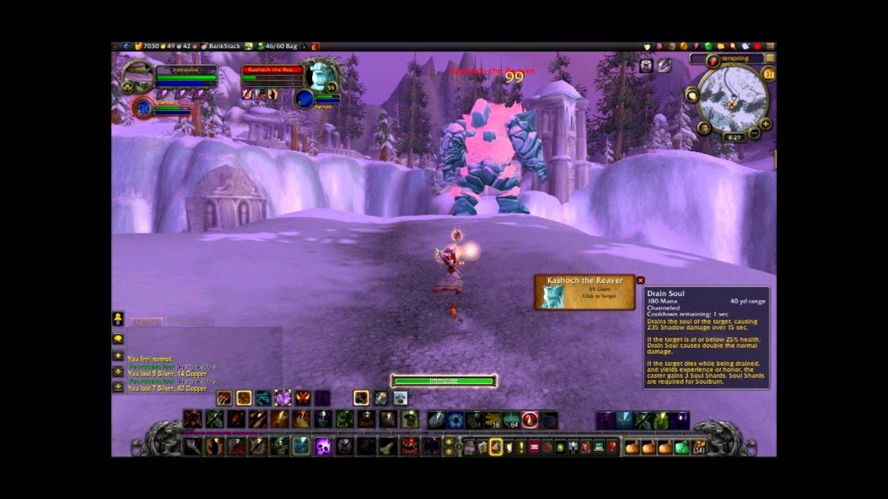 Winterspring Rare Spawns Wow Ironman Challenge Style Youtube
