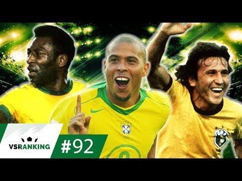 AS 10 MELHORES ESTREIAS DO BRASIL EM COPAS DO MUNDO - VSRANKING #92