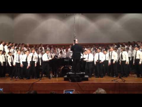 2015 ACDA State Middle School Male Honor Choir - Akekho Ofana No Jesu - Arr: Andrew St. Hilaire