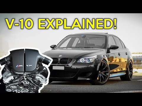 BMW S85: Explained | The Only Production BMW V-10