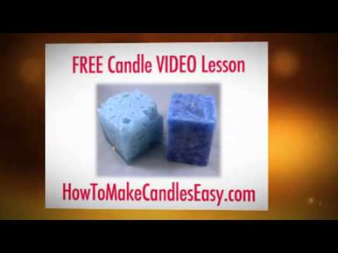 how to make candles easy com