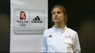 Britta Heidemann Germany Womens Fencing Gold Medalist