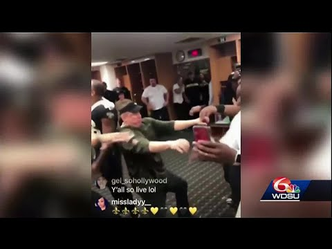 Craig Stevens - Sean Payton coming into his locker room with armed guards, and cash !
