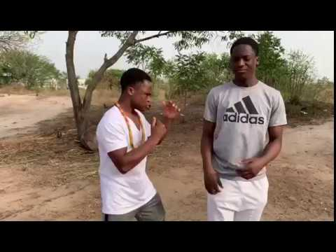 GHANA BOXER 'TRAINING' IN THE FOREST
