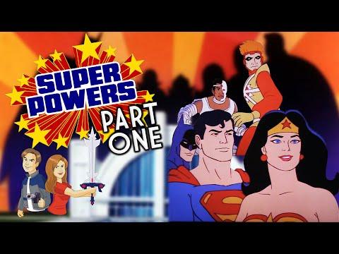 Super Powers: Part 1 - Superfriends Classic Cartoon Review