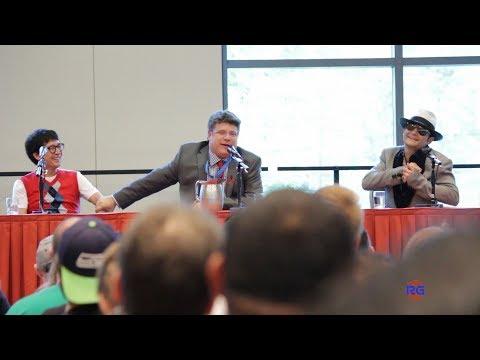 Goonies Reunion - Sean Astin, Corey Feldman, and Ke Huy Quan Alamo City Comic Con