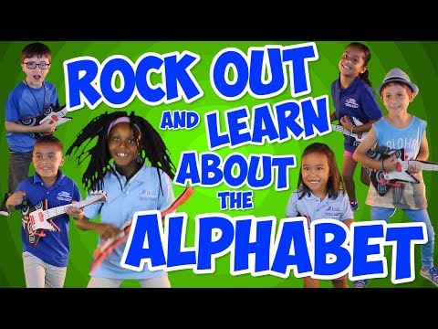 Rock Out And Learn About The Alphabet  Alphabet Song for Kids  Phonics & ABC Song  Jack Hartmann
