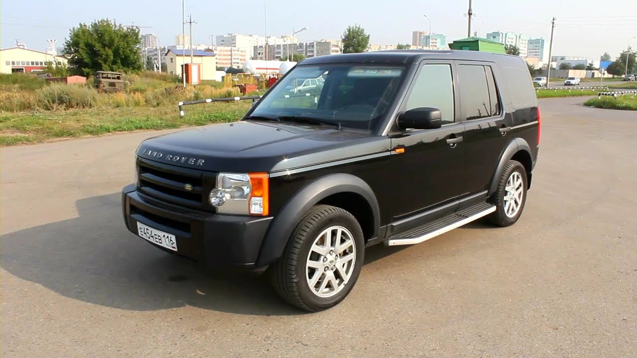 2007 Land Rover Discovery 3 SE Start Up Engine and In Depth