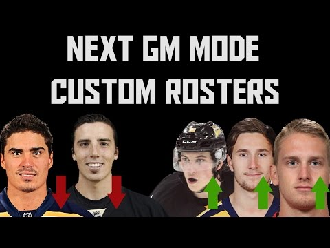 Preparing for the Next GM Mode - Custom Rosters