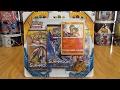 Litten Pokemon Sun and Moon 3-Pack Blister Opening