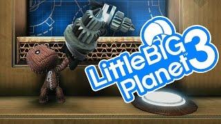 LittleBigPlanet 3 - Create Mode Gameplay - PS4 LBP3