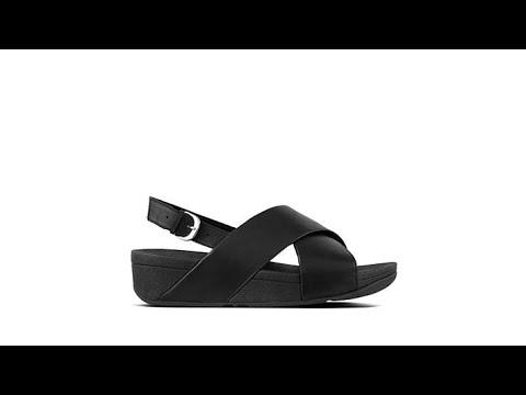 8b9587f4adfb FitFlop Lulu Cross Backstrap Sandal - YouTube