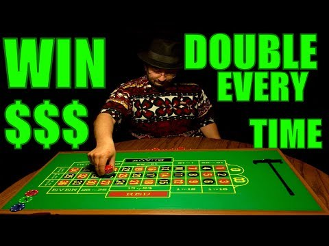 Roulette WIN Every Time Strategy 2 Accelerated Martingale