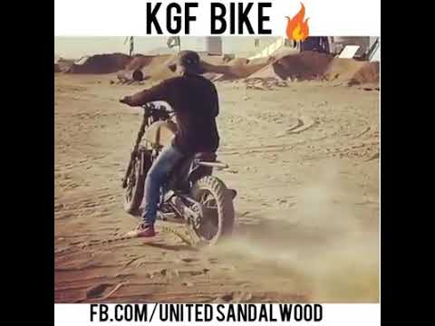 Rocking Star Yash Kgf Bike Youtube