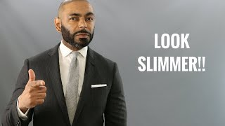 How To Use Clothes To Look Slimmer/Top Men